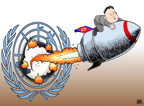 Kim Jong-unleashed [By Jiao Haiyang/China.org.cn]