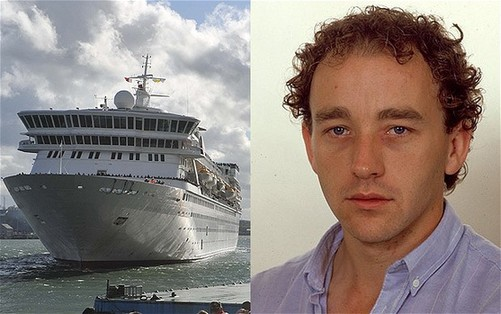 Tim Rex, 56, who was covering the cruise for the BBC. [Agencies]