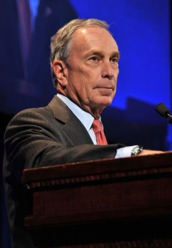Michael Bloomberg, one of the 'Top 16 richest politicians in the world' by China.org.cn.