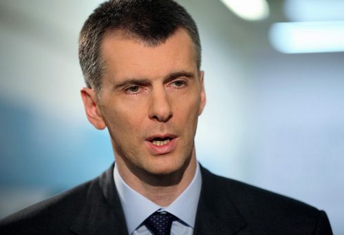 Mikhail Prokhorov, one of the 'Top 16 richest politicians in the world' by China.org.cn.