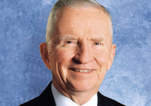Henry Ross Perot Sr., one of the 'Top 16 richest politicians in the world' by China.org.cn.