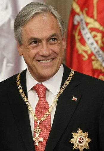 Sebastian Pinera, one of the 'Top 16 richest politicians in the world' by China.org.cn.
