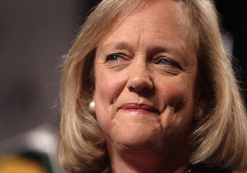 Meg Whitman, one of the 'Top 16 richest politicians in the world' by China.org.cn.