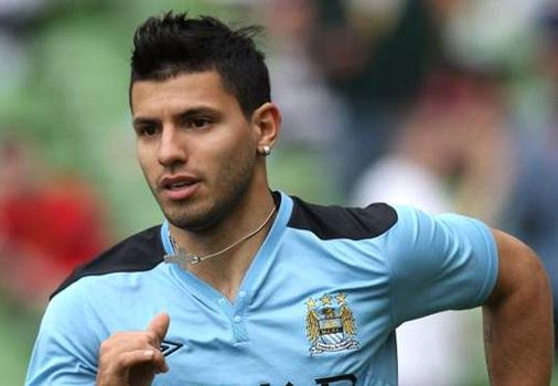 Sergio Aguero, one of the 'Top 20 highest-paid football players 2012' by China.org.cn.