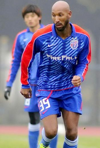 Nicolas Anelka, one of the 'Top 20 highest-paid football players 2012' by China.org.cn.