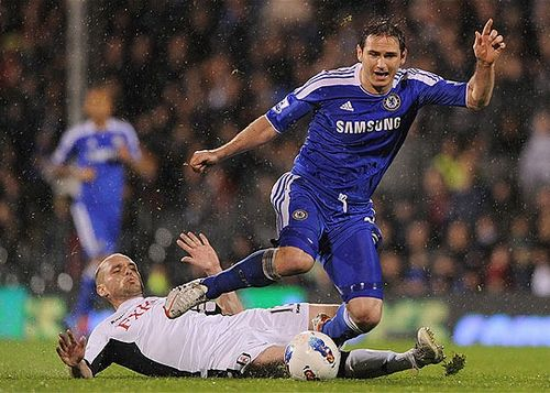 Frank Lampard, one of the 'Top 20 highest-paid football players 2012' by China.org.cn.