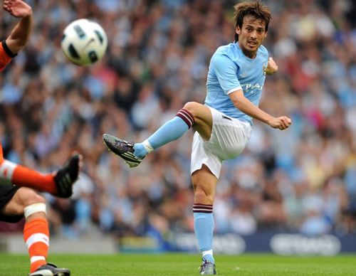 David Silva, one of the 'Top 20 highest-paid football players 2012' by China.org.cn.