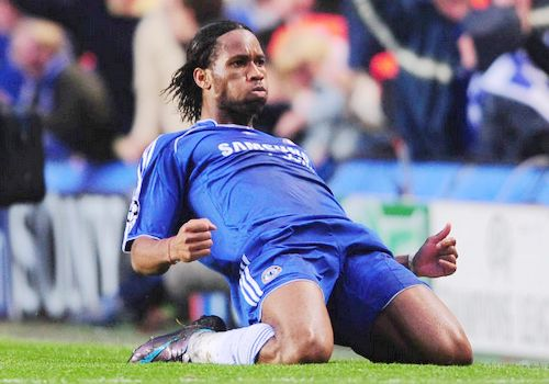 Didier Drogba, one of the 'Top 20 highest-paid football players 2012' by China.org.cn.