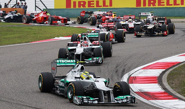 Rosberg got off to the best possible start in China.