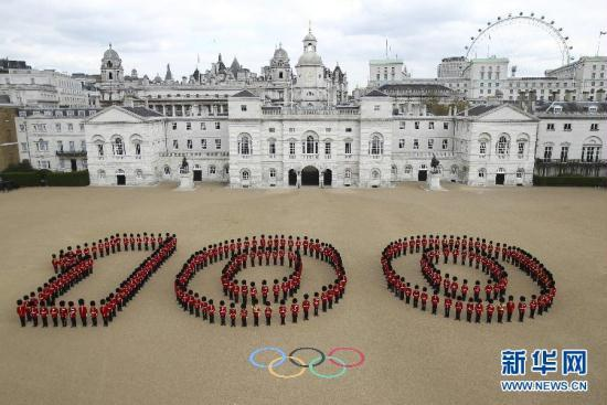 The countdown to the start of the London 2012 Olympic will reach a significant milestone on Wednesday as the countdown clock will hit 100 days.