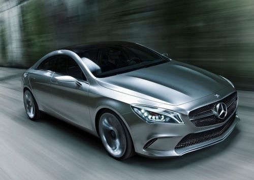 Mercedes-Benz CLA, one of the 'Top 15 global debuts at Beijing Auto Show' by China.org.cn.