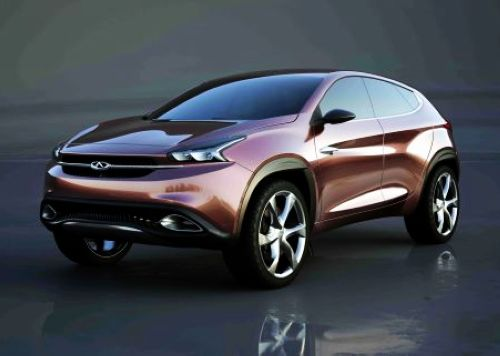 Chery TX concept, one of the 'Top 15 global debuts at Beijing Auto Show' by China.org.cn.