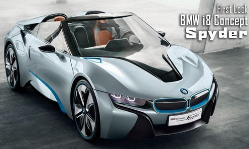 BMW i8 Spyder concept, one of the 'Top 15 global debuts at Beijing Auto Show' by China.org.cn.