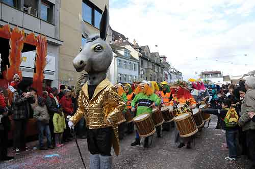 Carnival of Basel, Switzerland, one of the 'top 10 carnivals in the world' by China.org.cn.