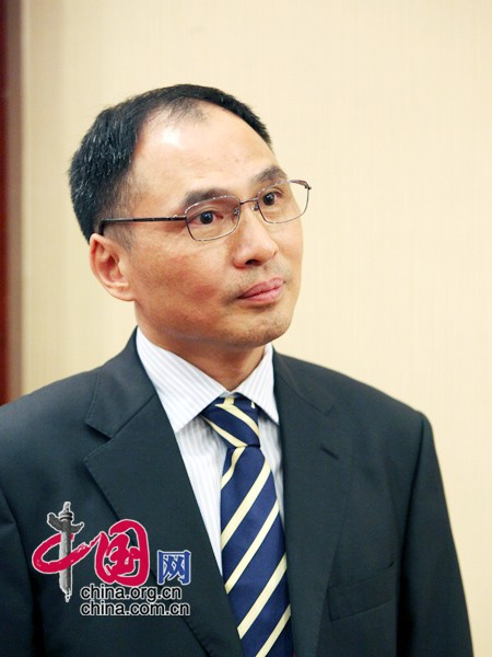 File photo of Zheng Yongnian, director of the East Asian Institute of the National University of Singapore