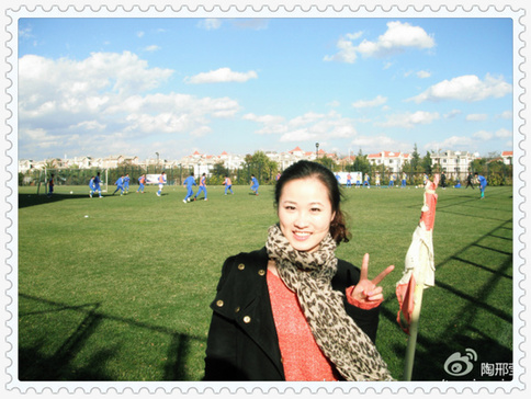 Tao Xingying, the Xinmin Evening News reporter [File photo]