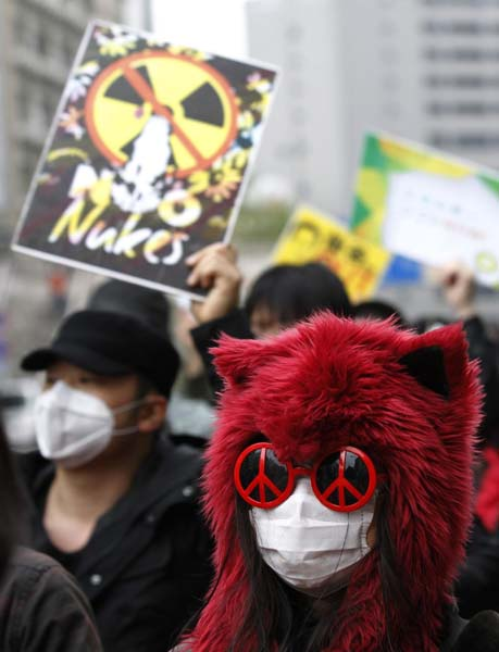 No nuclear parade for Earth Day in Tokyo