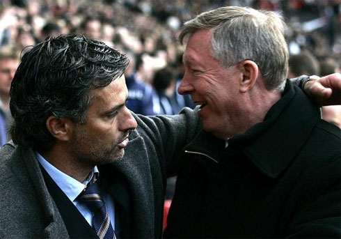 there are reports that Mourinho is Ferguson's choice as his successor when he eventually leaves the club.