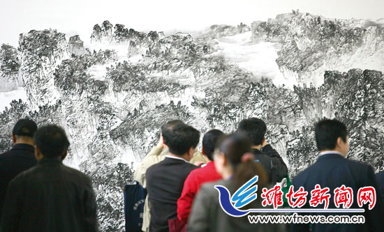 Chinese Painting Festival held in Weifang