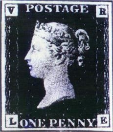 Penny Black, one of the 'top 13 most valuable postage stamps in the world' by China.org.cn.