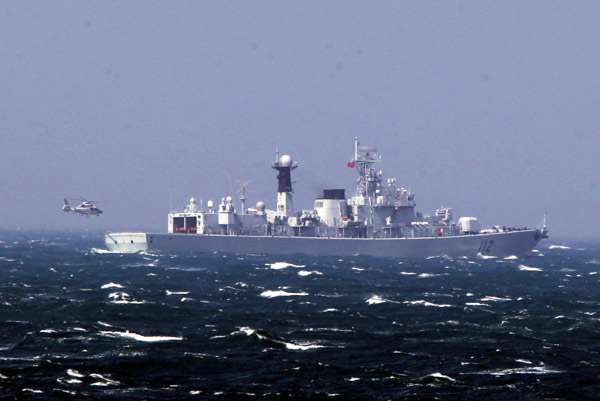 China, Russia hold naval drill