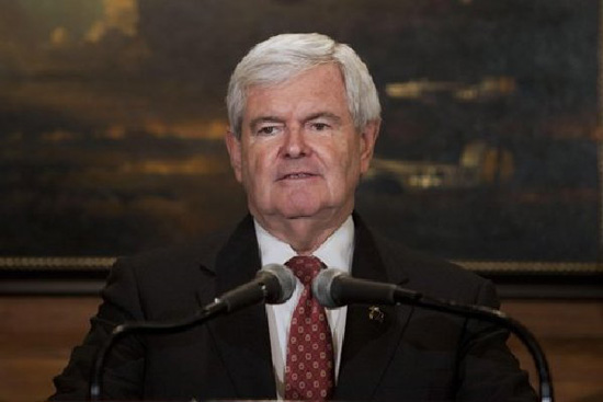 File photo of U.S. Republican presidential hopeful Newt Gingrich