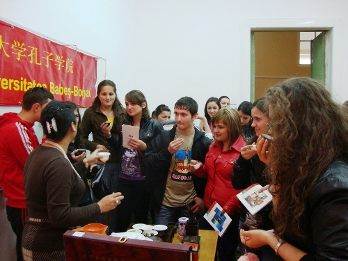 Confucius Institute at the Babes-Bolyai University of Cluj-Napoca is one of the 'Top 30 Confucius Institutes in 2011' by China.org.cn