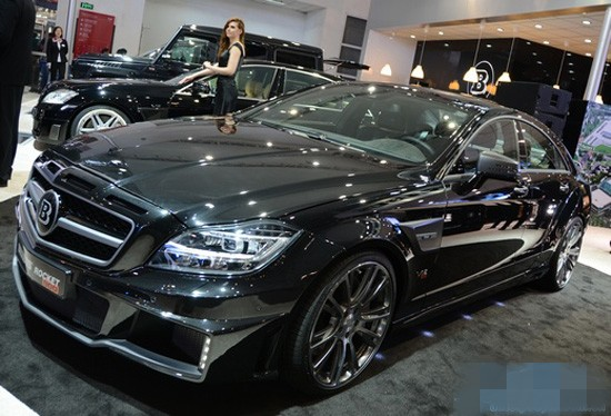 Brabus Rocket 800,one of the 'Top 10 most expensive cars at Beijing Auto Show' by China.org.cn.