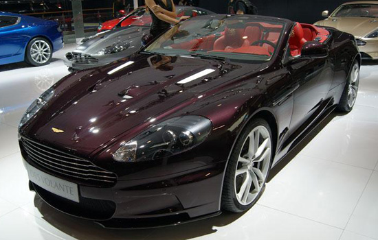 Aston Martin Dragon 88 Limited Edition,one of the 'Top 10 most expensive cars at Beijing Auto Show' by China.org.cn.
