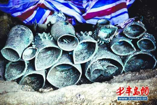 Precious artefacts uncovered in Shandong