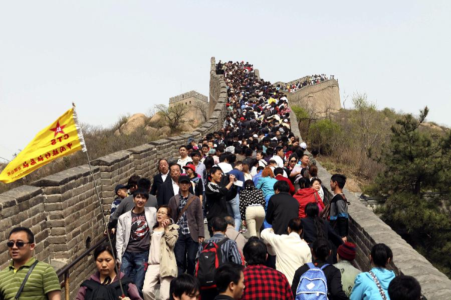 Good Many People Spend Labor Day Holiday In Travelling China Org Cn