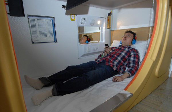 Xi'an builds 'space capsule' hotel