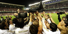 Real Madrid seal 32nd title