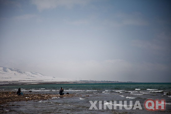 The Qinghai Lake has been expanding for seven consecutive years. [Photo/ Xinhua]