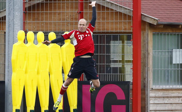 Robben extends Bayern contract by 2 yrs