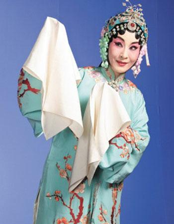This is a classical piece of Peking Opera, named 'Feng Huan Chao', literally means 'Homecoming of a Phoenix.' The plot covers the troubled story of the marriages of two sisters during the Ming Dynasty, some 600 years ago. Taiwan artist Wei Haimin was invited to play one of the lead roles.