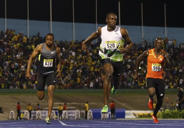 Bolt speeds to year's fastest 100m