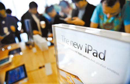 Apple is said to have offered a settlement proposal to end the dispute over the iPad trademark in China. [File photo]