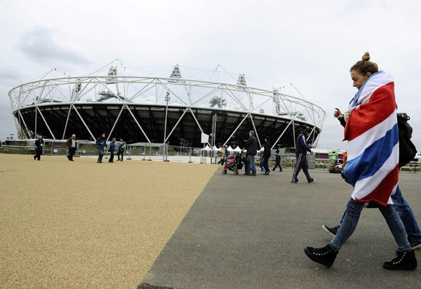 LOCOG kicks off full test of Olympic Park