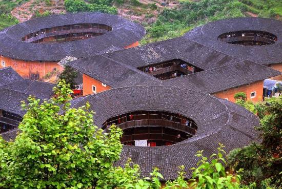 Fujian Tulou, one of the 'China's Top 10 folk houses' by China.org.cn