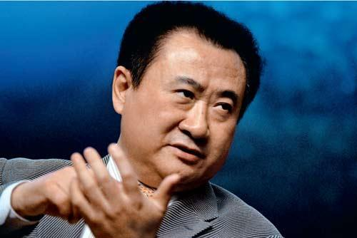 Wanda Group's chairman Wang Jianlin has been ranked top of the 2012 New Fortune 500 rich list. [File photo]