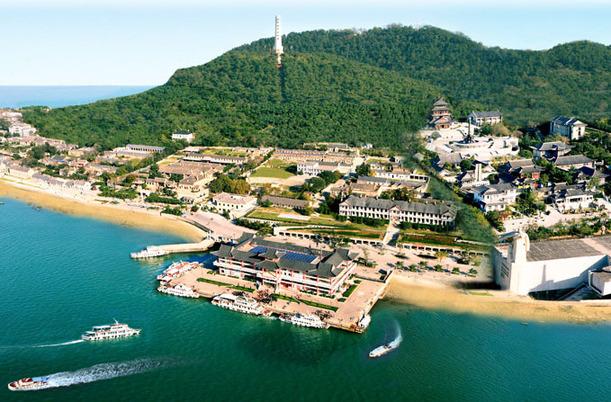 Liugong Island in Weihai