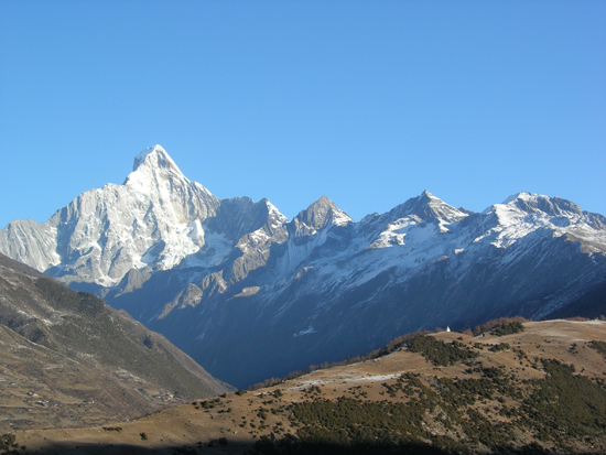 Four Girls Mountain, one of the 'top 10 attractions in Sichuan, China' by China.org.cn.