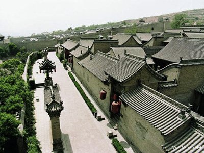 Wang Family's Grand Courtyard, one of the 'top 10 attractions in Shanxi, China' by China.org.cn.