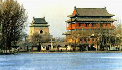 Bell and Drum Towers, one of the 'top 15 attractions in Beijing, China' by China.org.cn.