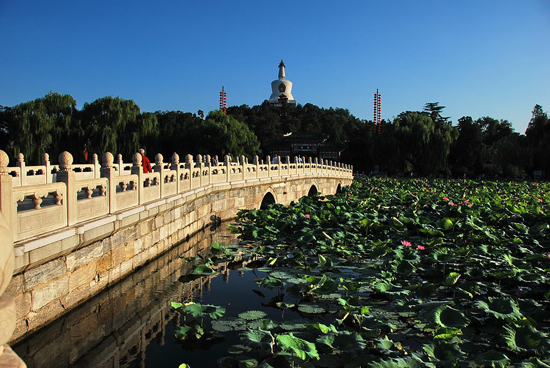 Beihai Park, one of the 'top 15 attractions in Beijing, China' by China.org.cn.