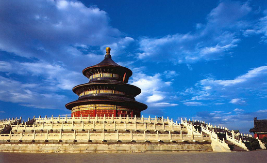 Temple of Heaven, one of the 'top 15 attractions in Beijing, China' by China.org.cn.