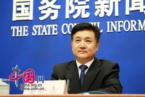 Wu Xiaoqing, vice minister of environmental protection. [China.org.cn]