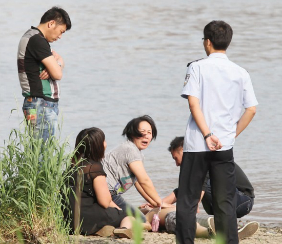 A child drowned in Wulihe Park, Shenyang of Liaoning Province, on June 1.