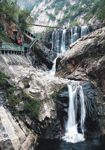 Funiu Mountain Geopark, one of the 'Top 10 attractions in Henan,China' by China.org.cn.